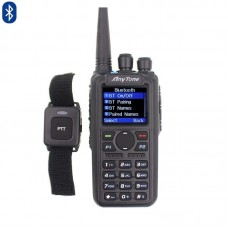 Anytone Dual-Band Analog Digital Handheld Bluetooth GPS APRS DMR
