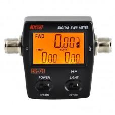 Digital RF power SWR HF meter